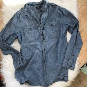Gap chambray tunic